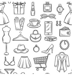 Fashion sale background vector