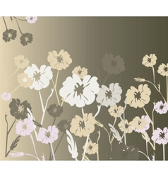 Flowers ornaments background texture vector