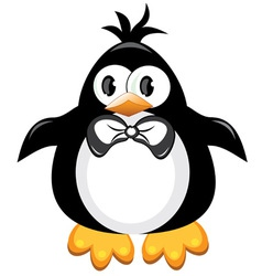 penguin cartoon vector image