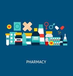 pharmacy concept vector image
