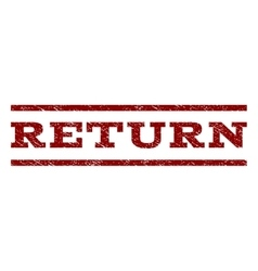 Return Watermark Stamp vector