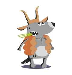 Wolf in sheep skin 02 vector