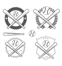 American baseball vector image vector image
