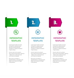 Infographic template for your project vector image vector image