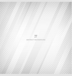 Abstract white and gray color geometric vector