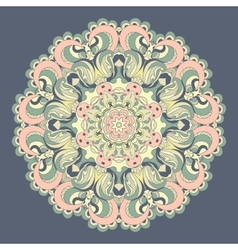 Beautiful lace pattern background vector image vector image