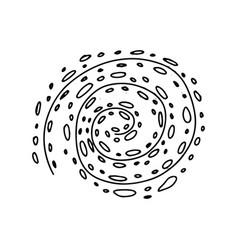 Galactic space nebula milky way doodle vector