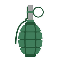 Hand grenade bomb explosion weapons vector