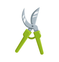 Isolated object pruner and tool icon graphic vector