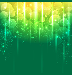 light green and gold yellow abstract background vector image