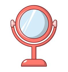 Mirror icon cartoon style vector