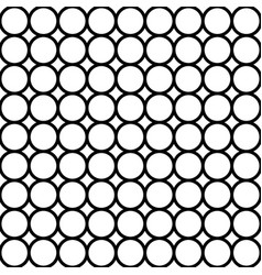 modern repeating seamless pattern of repeat round vector image