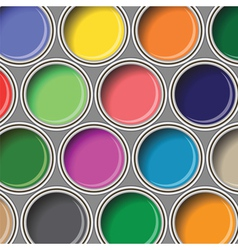 oil paints vector image