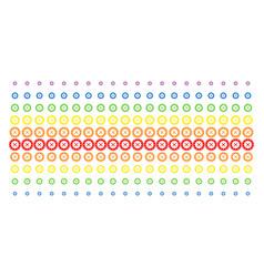 roulette shape halftone spectral effect vector image