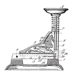 Stapling machine vintage vector