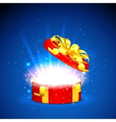 Surprised Gift vector image