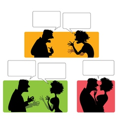 couple vector image vector image