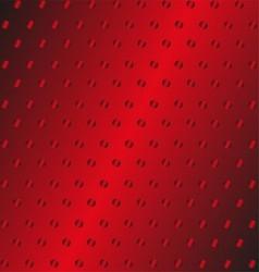 Red Metal Background Pattern Texture Grey Metal vector image vector image