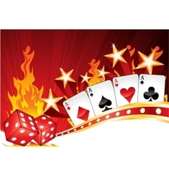 Hot Casino vector image vector image