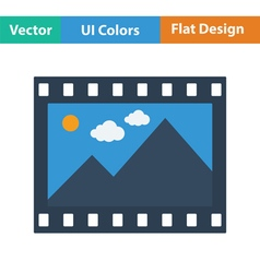 Film frame icon vector image