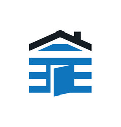home housing business logo vector image