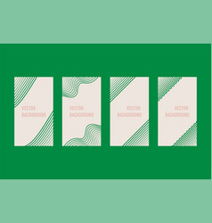 a minimalistic colored frame design line frame vector image