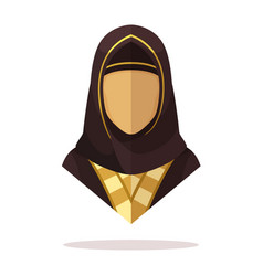 Arabian women avatar vector