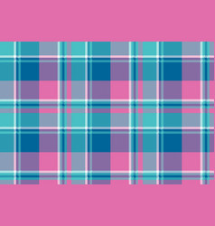 baby girl pink pastel color plaid seamless pattern vector image