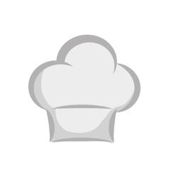 Chefs hat icon Kitchen and menu design vector