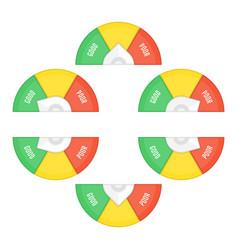 credit score template vector image