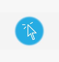 cursor icon sign symbol vector image