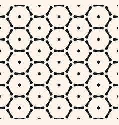 minimalist geometric seamless pattern with small vector image