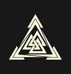 sacred geometry 0033 vector image