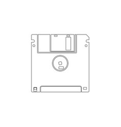 Save flat icon vector