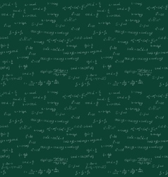 Seamless mathematics handwriting vector image