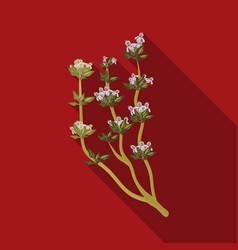 the mongolian medicinal plant artyshsymbol of vector image