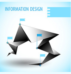 business diagram template with text field vector image
