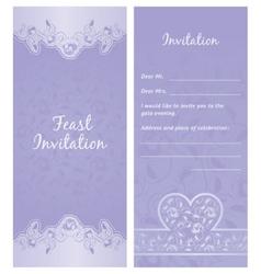 Feastinvitation background vector