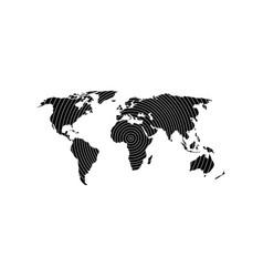 globe earth 19 vector image
