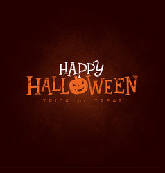 happy halloween banner vector image