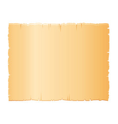 Papyrus scroll parchment paper with old texture vector