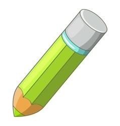 Pencil icon cartoon style vector
