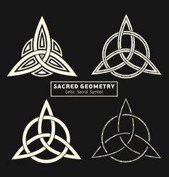 sacred geometry 0035 vector image