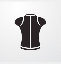 Sport t-shirt icon vector