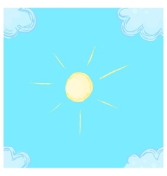 Sunny seamless vector image