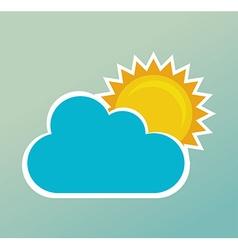 Weather design vector image