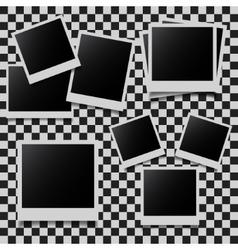 Abstract photo frames set vector image vector image