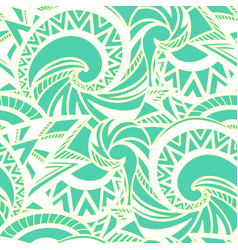 boho style pattern vector image vector image