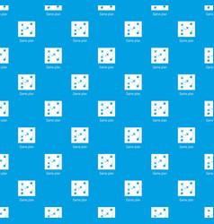 Game plan pattern seamless blue vector
