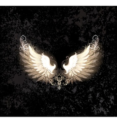 light wings vector image